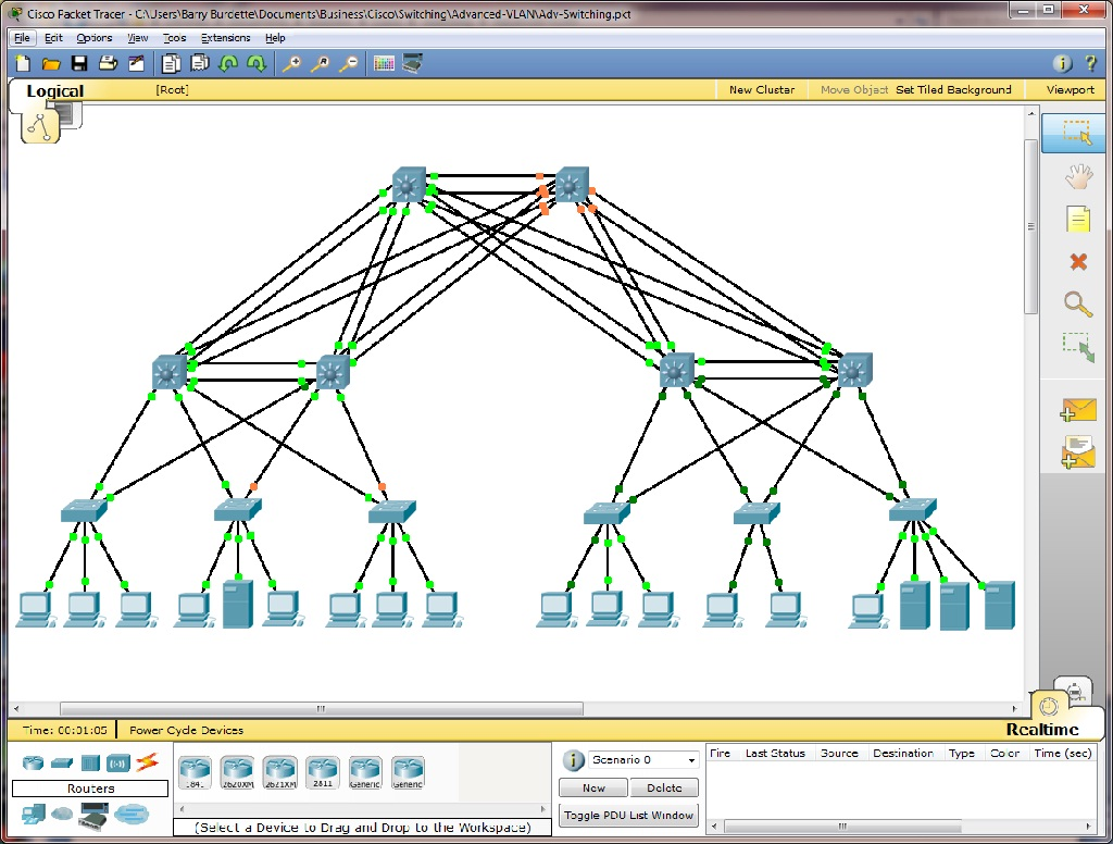 Ccna packet trace Lab 11 5 1 2 answer